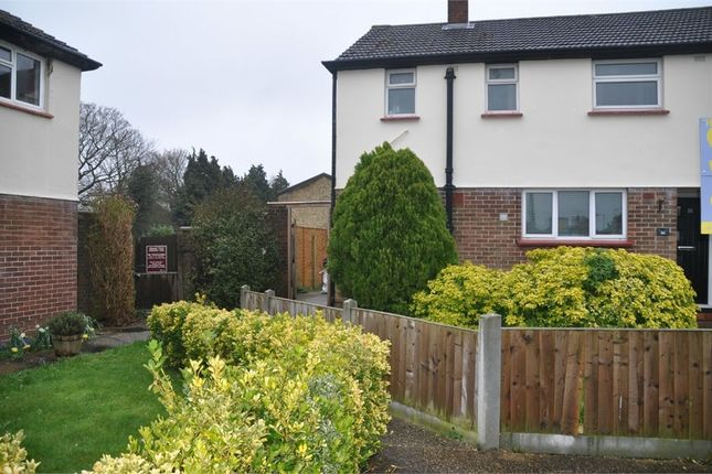 Thumbnail End terrace house for sale in Cheviot Drive, Chelmsford, Essex