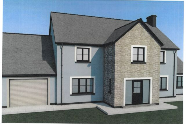 Thumbnail Detached house for sale in Cefn Farm Development, Rhydargaeau, Carmarthen