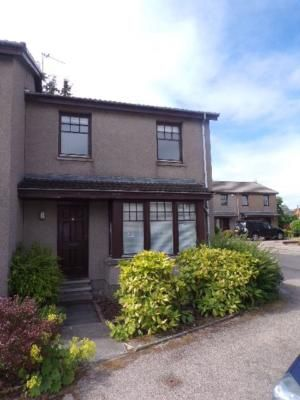 Thumbnail Terraced house to rent in Allenvale Gardens, Aberdeen