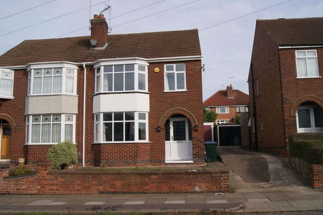 Thumbnail Semi-detached house to rent in Cecily Road, Cheylesmore, Coventry