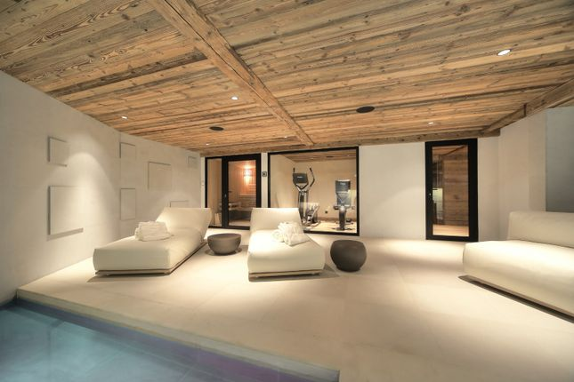 Relaxation Area of Megeve, Rhones Alps, France