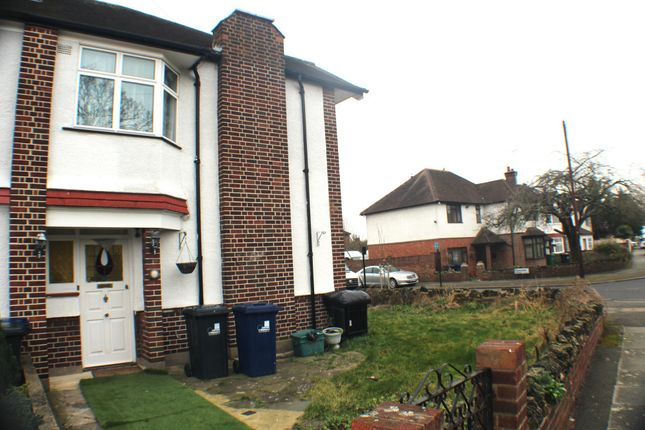 Thumbnail Semi-detached house to rent in Shaftesbury Avenue, Southall, Middlesex