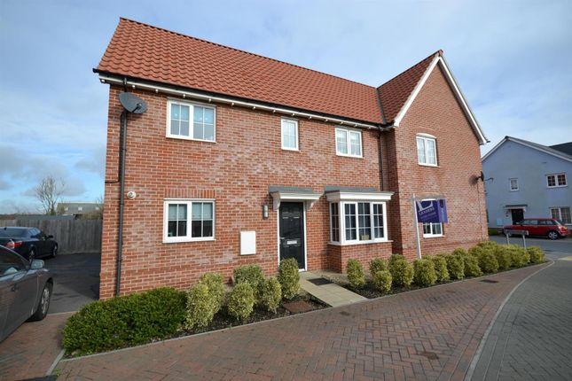 Thumbnail Semi-detached house to rent in Legerton Drive, Clacton-On-Sea