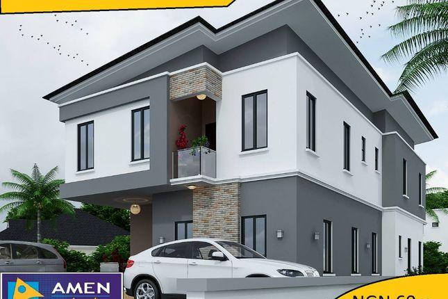 Thumbnail Detached house for sale in Amen Estate Phase 2, Eleko Beach Road, Ajah, Ibeju Lekki, Lagos