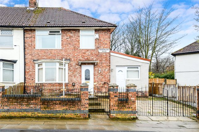 Thumbnail End terrace house for sale in Morningside Road, Liverpool, Merseyside