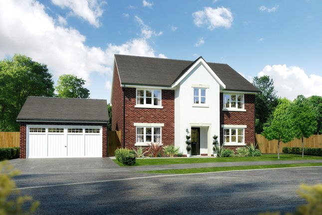 """Thumbnail Detached house for sale in """"Millwood"""" at Moorfields, Willaston, Nantwich"""