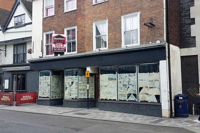Thumbnail Retail premises to let in Middle Row, Maidstone, Kent