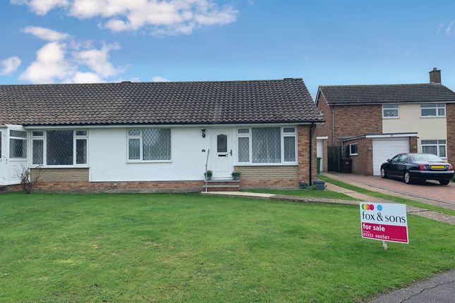 Thumbnail Semi-detached bungalow for sale in Seven Sisters Road, Willingdon, Eastbourne