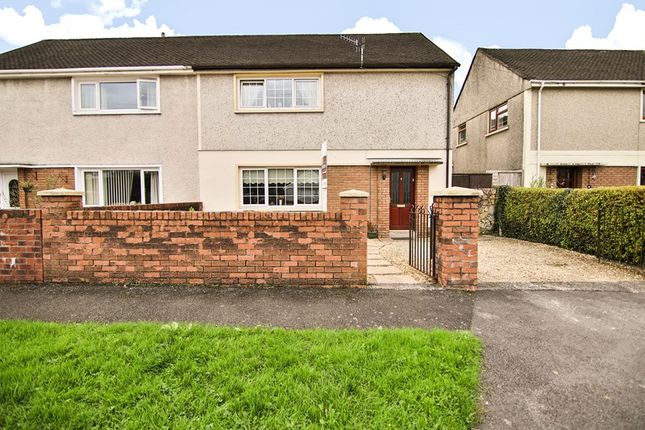 Thumbnail Semi-detached house for sale in The Close, Aberdare