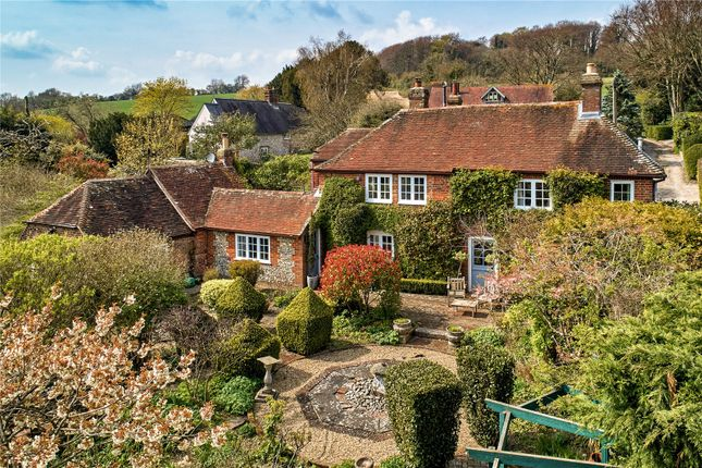 Thumbnail Detached house for sale in Milberry Lane, Stoughton, Chichester, West Sussex