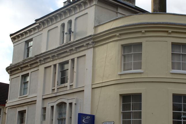 Thumbnail Flat to rent in The High Street, Weston Super Mare