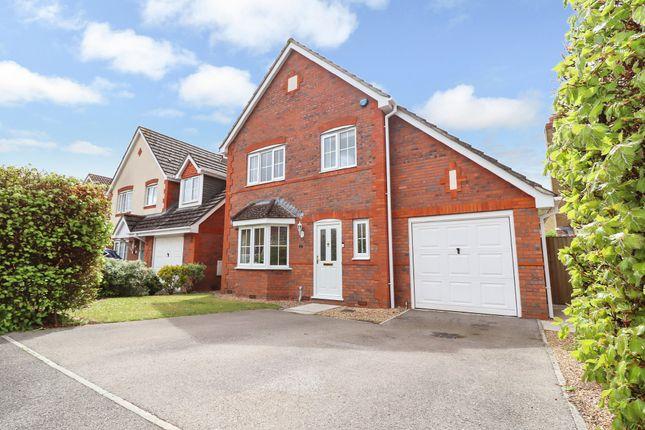 Thumbnail Detached house for sale in Damson Crescent, Fair Oak, Eastleigh