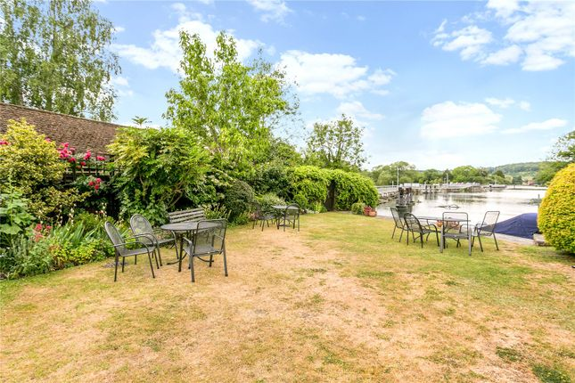 Communal Garden of Hambleden Mill, Hambleden, Henley-On-Thames, Oxfordshire RG9