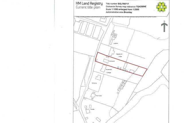Thumbnail Land for sale in Berrys Green Road, Berrys Green