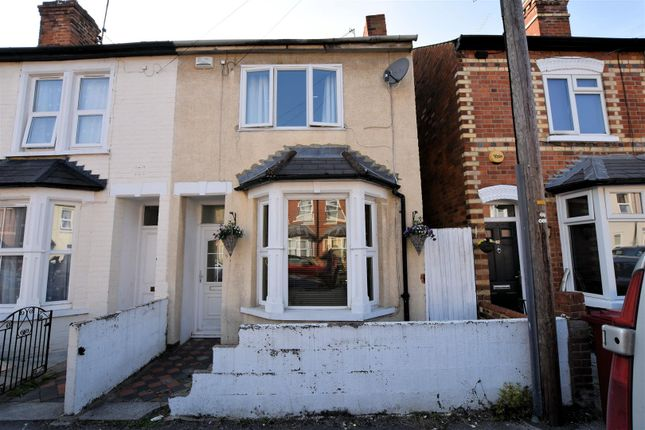 Thumbnail 3 bed end terrace house for sale in Elm Park Road, Reading