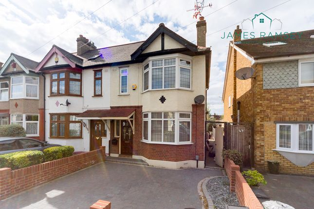 Thumbnail Semi-detached house for sale in Canfileld Road, Woodford Green