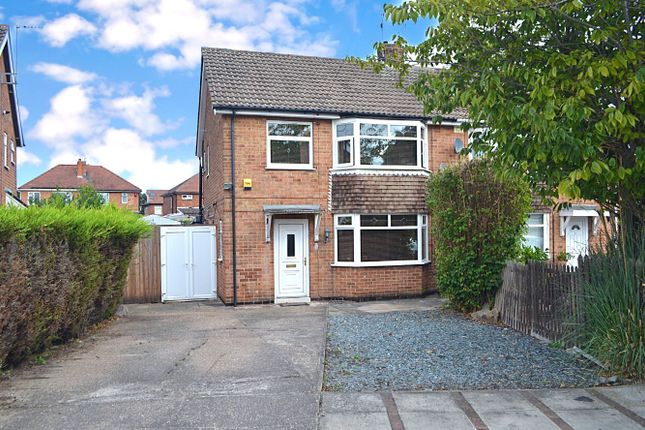 Thumbnail Semi-detached house for sale in Dalkeith Avenue, Alvaston, Derby