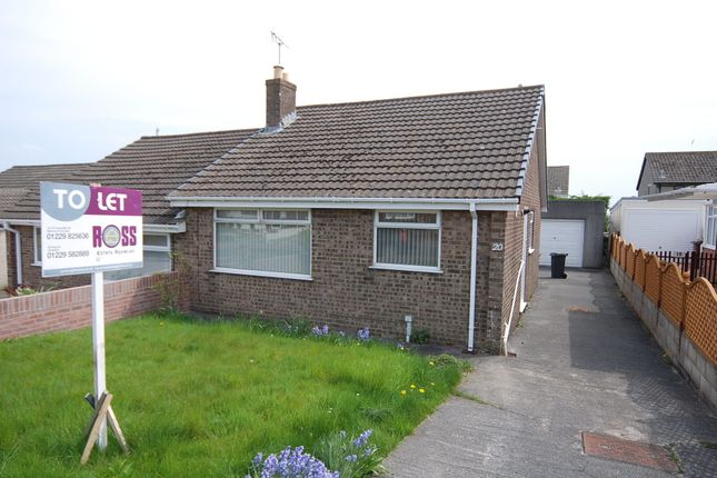 Thumbnail Semi-detached bungalow to rent in Skelwith Drive, Barrow In Furness
