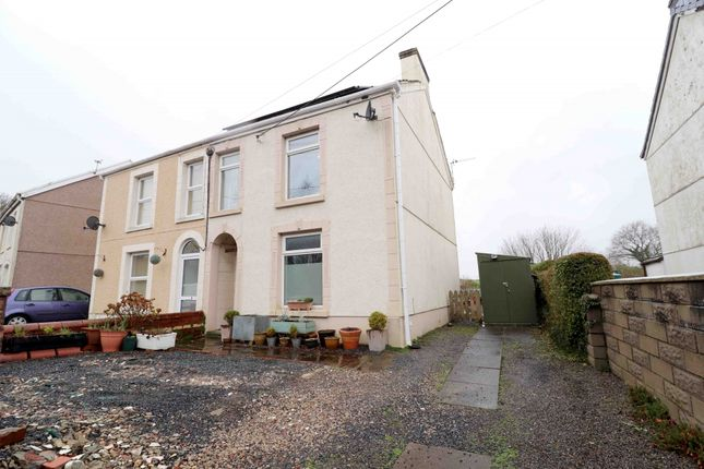 Thumbnail Semi-detached house for sale in Pentre Road, Swansea
