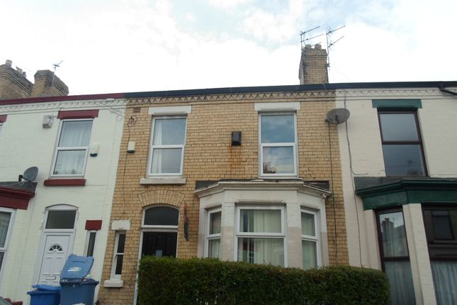 Thumbnail Terraced house to rent in Blantyre Road, Wavertree, Liverpool, Merseyside