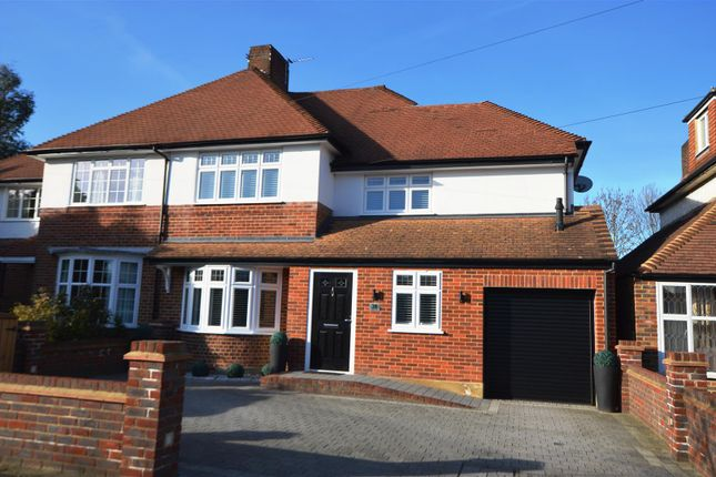 Thumbnail Semi-detached house for sale in Forest Side, Worcester Park