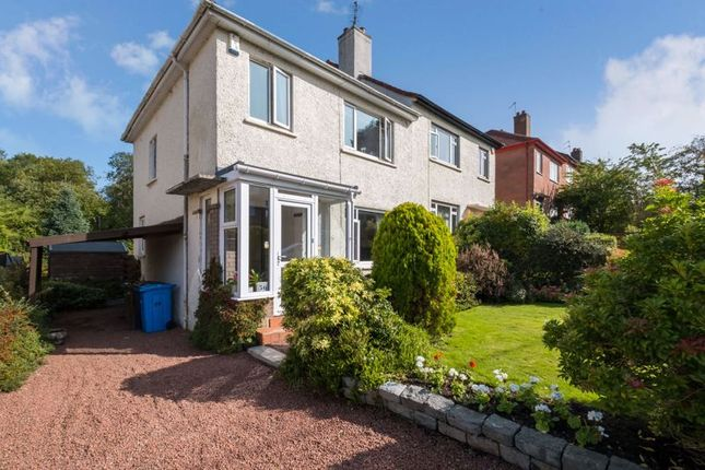 Thumbnail Semi-detached house for sale in Forres Avenue, Giffnock