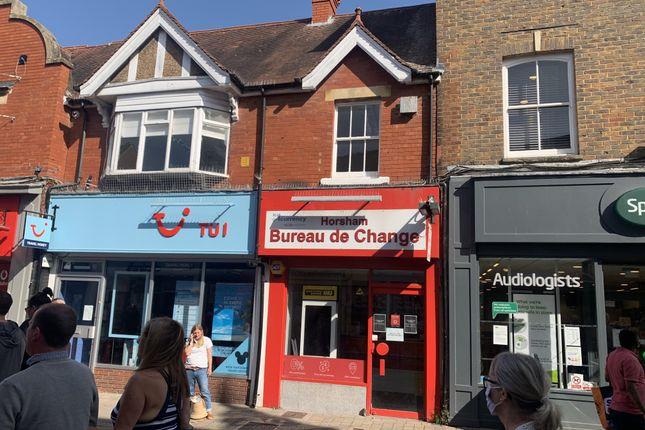 Retail premises to let in West Street, Horsham