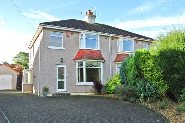Thumbnail Semi-detached house for sale in Hatlex Drive, Hest Bank, Lancaster