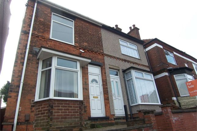Thumbnail Semi-detached house to rent in Montague Street, Mansfield