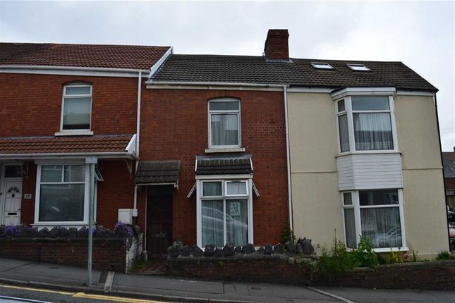 Thumbnail Terraced house for sale in Rhyddings Park Road, Swansea