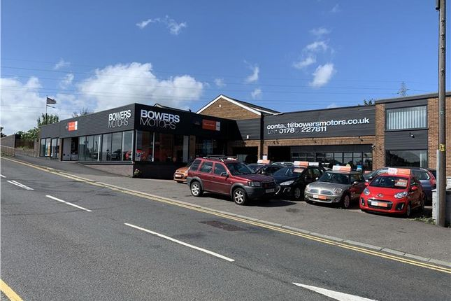 Thumbnail Retail premises for sale in Prominently Located Car Showroom, Bowers Motors, Wolverhampton Road, Stafford, Staffordshire