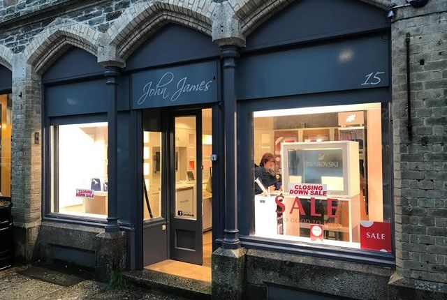 Thumbnail Retail premises to let in 15 Duke Street, Tavistock, Devon