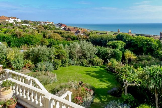 Terrace/View of Roedean Crescent, Brighton, East Sussex BN2