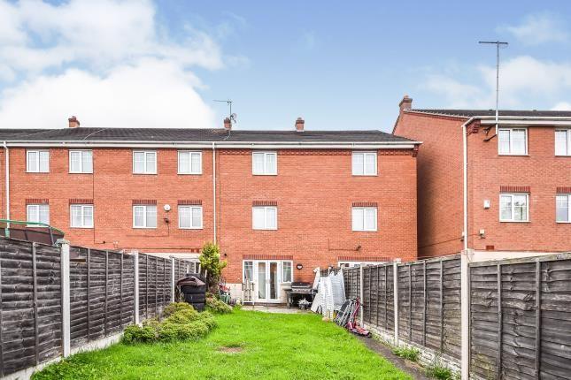 Rear Views of Canterbury Close, Erdington, Birmingham, West Midlands B23
