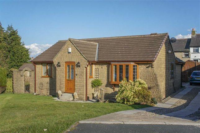Thumbnail Detached bungalow for sale in Heatherlands Avenue, Denholme, West Yorkshire