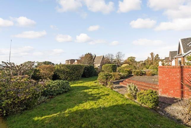 Front Garden of Greenock Road, Largs, North Ayrshire, Scotland KA30