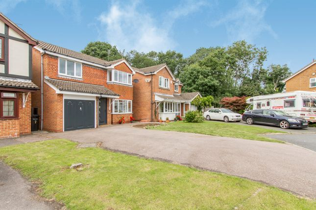 Thumbnail Detached house for sale in Newby Gardens, Oadby, Leicester