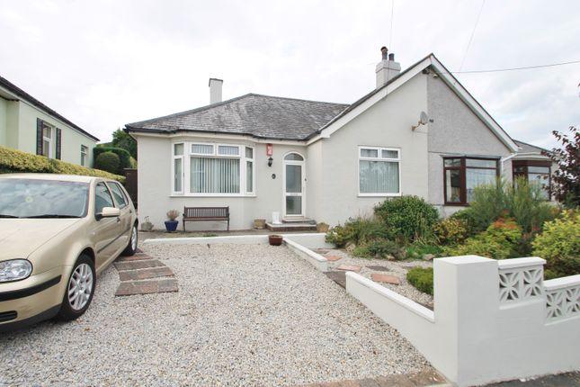 Thumbnail Semi-detached bungalow for sale in Glebe Avenue, Saltash