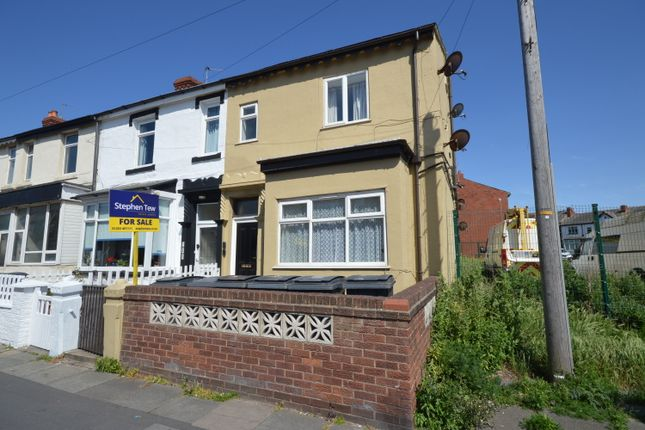 Thumbnail End terrace house for sale in Central Drive, Blackpool