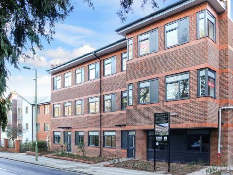 Thumbnail Flat for sale in 111-113 Fleet Road, Fleet