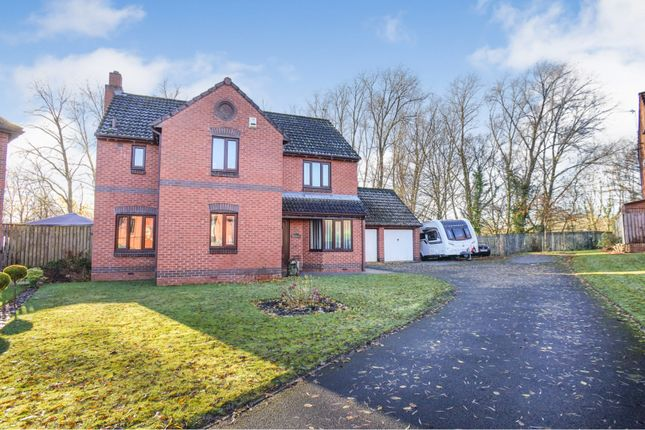 Thumbnail Detached house for sale in Malvern Way, Newton Aycliffe