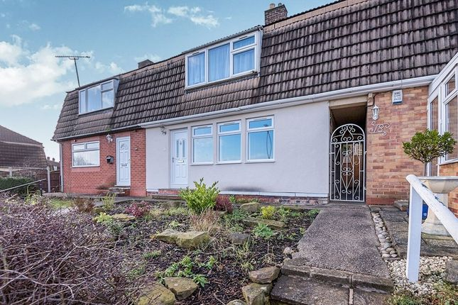 Thumbnail Semi-detached house to rent in Houldsworth Drive, Chesterfield