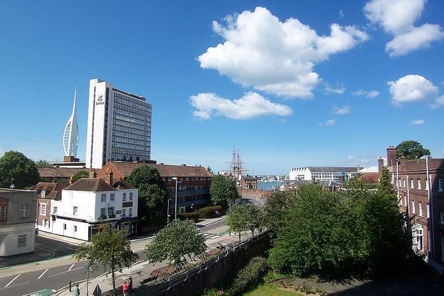 Thumbnail Flat to rent in Malborough House, Queen Street, Portsmouth