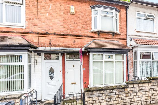 3 bed terraced house for sale in Victoria Road, Handsworth, Birmingham