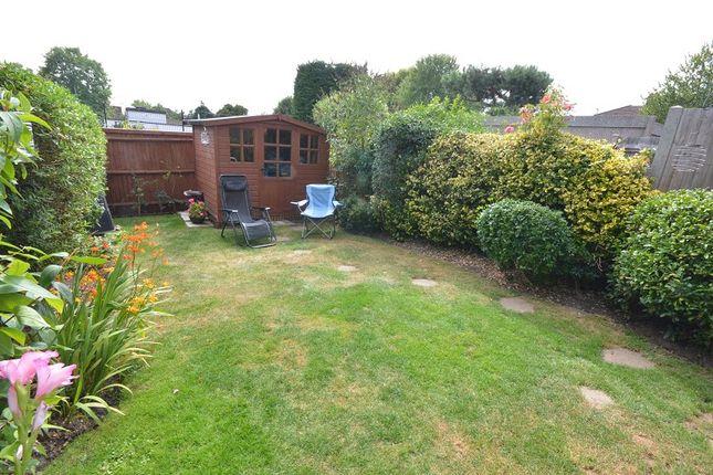 Garden of Mcdonough Close, Chessington, Surrey. KT9