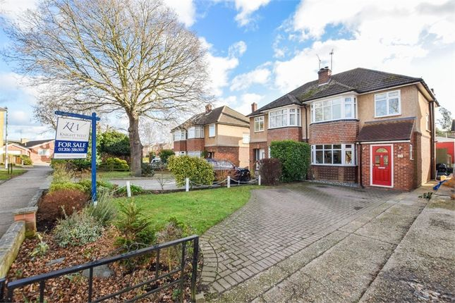 Thumbnail Semi-detached house for sale in Shelley Road, Colchester, Essex