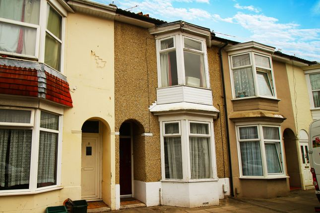 Thumbnail Terraced house to rent in Cressy Road, Portsmouth