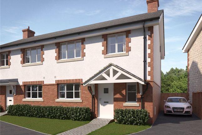 Thumbnail Semi-detached house for sale in Ash Green, West Bourton Road, Bourton, Gillingham