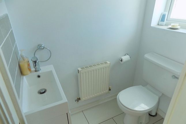 Cloakroom of Llys Iris, Neath, Neath Port Talbot. SA10