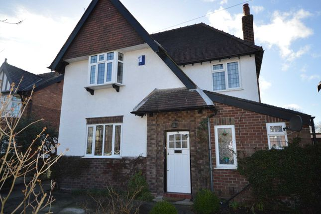 Thumbnail Detached house for sale in Greenfields Avenue, Bromborough, Wirral
